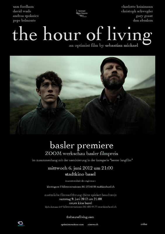 The Hour of Living Basel Premiere Poster